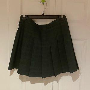 Aritzia Sunday Best Olive Skirt